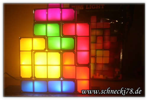 [Produkttest] Tetris Lampe